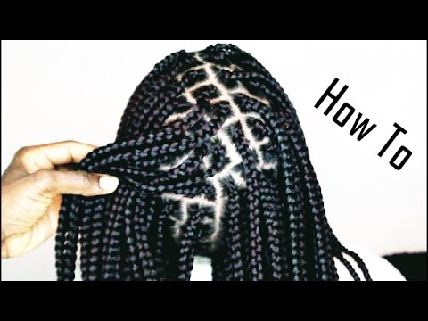 How To Do Box Braids Like A Pro Only 1 Hour Youtube