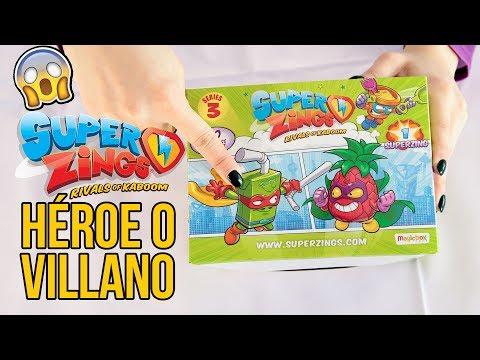 ¿Heroes o Villanos? SuperZings Serie 3 - Juguetes para niños