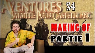 MAKING OF #01 - Fred (Le Joueur du Grenier) et Mahyar dans AVENTURES - PARTIE 1/2