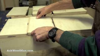How To Make Plywood Boxes • 34 Of 64 • Woodworking Project For Kitchen Cabinets, Desks, Etc...