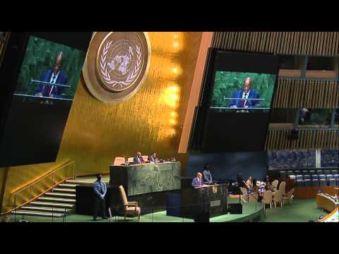 President Jacob Zuma attends 69th UNGA Session in New York