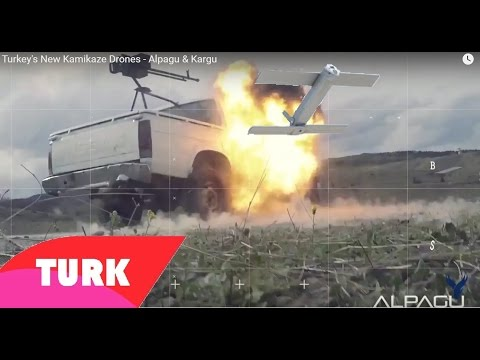 Turkey's New Kamikaze Attack Drone - Alpagu