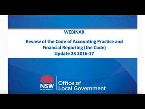 Office of Local Government - Draft Code 25 Recording