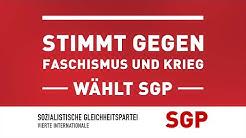 Wahlspot der Sozialistischen Gleichheitspartei (SGP) zur Europawahl – Gegen Faschismus und Krieg