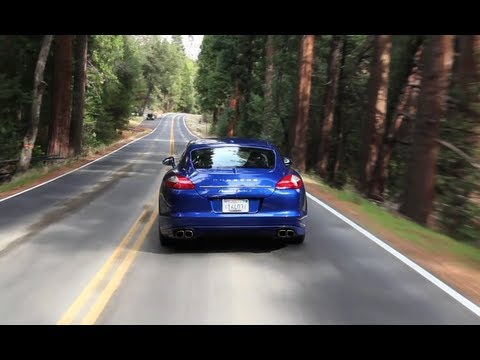 Porsche Panamera Turbo S  - The Smoking Tire