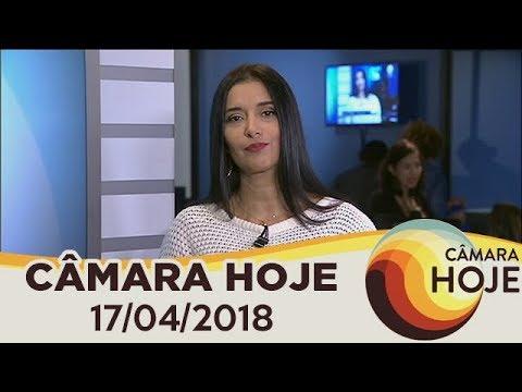 Câmara Hoje - Descumprir medidas protetivas à mulher agora é crime | 17/04/2018