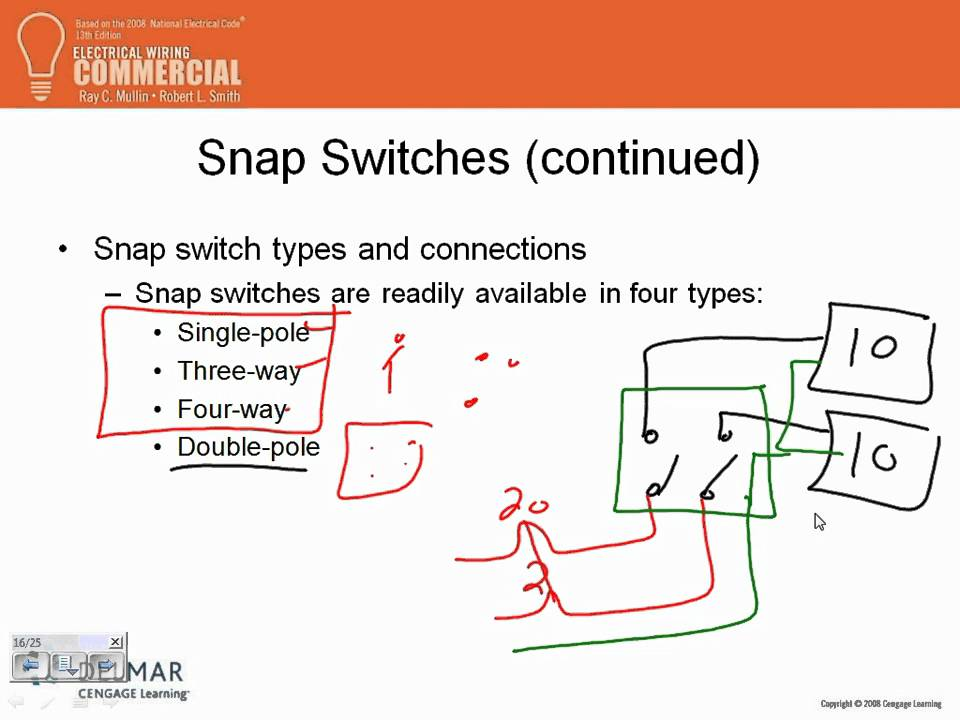 Electrical Wiring Commercial Ch#05 2 01 13 11 - YouTube