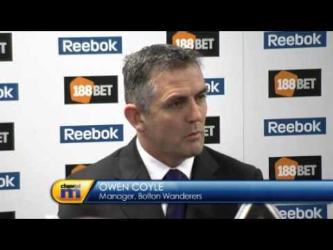 Owen Coyle - plans for Bolton Wanderers