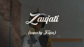 Fajar Rain - Zaujati (Karaoke / Mines One dengan lirik dan terjemahan Bahasa Indonesia)
