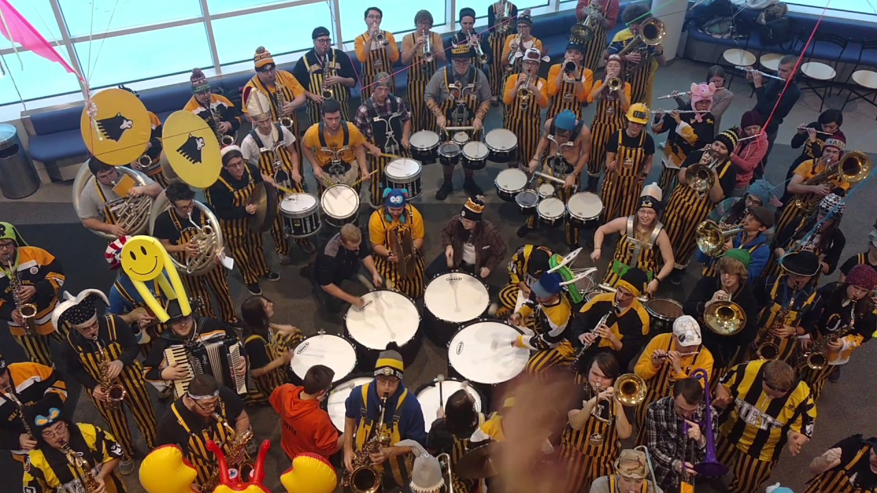 Preview image for Michigan Tech Pep Band 11 Drummers Drumming video