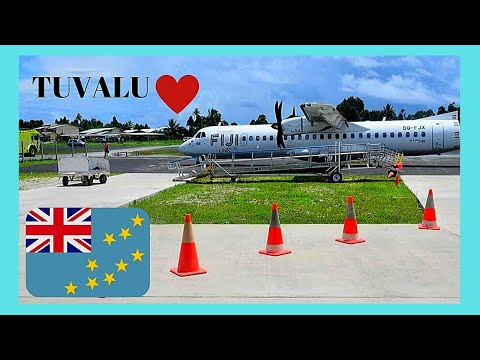 TUVALU, risky landings on its runway and international airport (PACIFIC OCEAN)