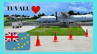 TUVALU, risky landings on its runway and international airport