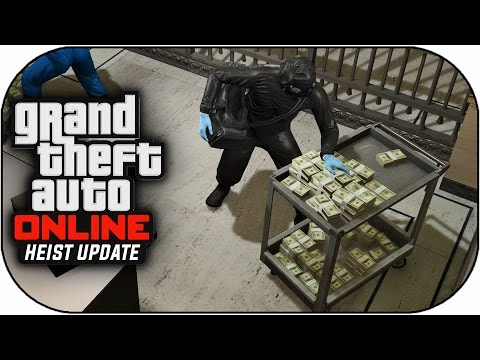 GTA V Heist Online Gameplay - THE FINAL BANK HEIST ! (GTA 5 Heist Online DLC Gameplay)