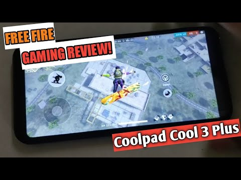 Free Fire Gaming Review   Coolpad cool 3 Plus  3gb/32gb