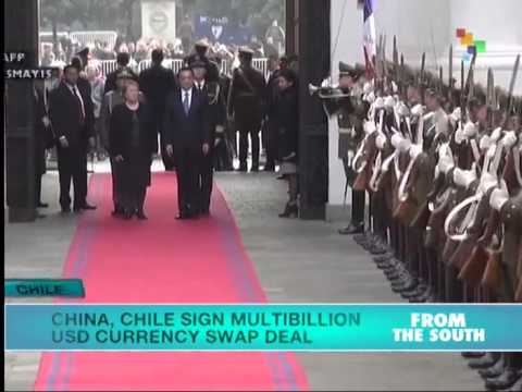 China, Chile Sign Multibillion Dollar Currency Swap