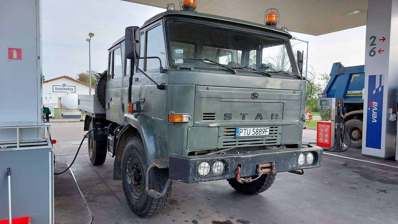 STAR 744 - Moja pierwsza terenowa ciężarówka 4x4
