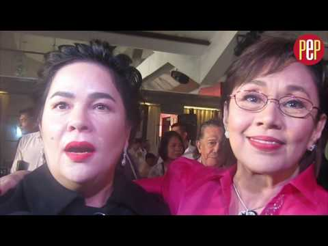 Vilma Santos-Recto and Jaclyn Jose support government's campaign against illegal drugs