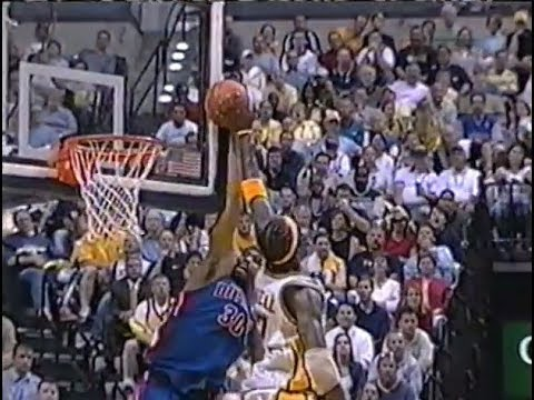 26 Blocks in One Game (2004 Eastern Conference Finals)