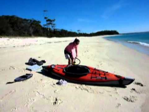 See How Quick it is to Inflate the Advanced Frame Inflatable Kayak ...