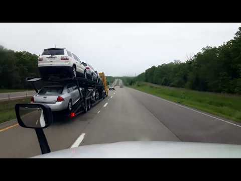 BigRigTravels LIVE! Rolla to Strafford, Missouri Interstate 44 West-May 8, 2019