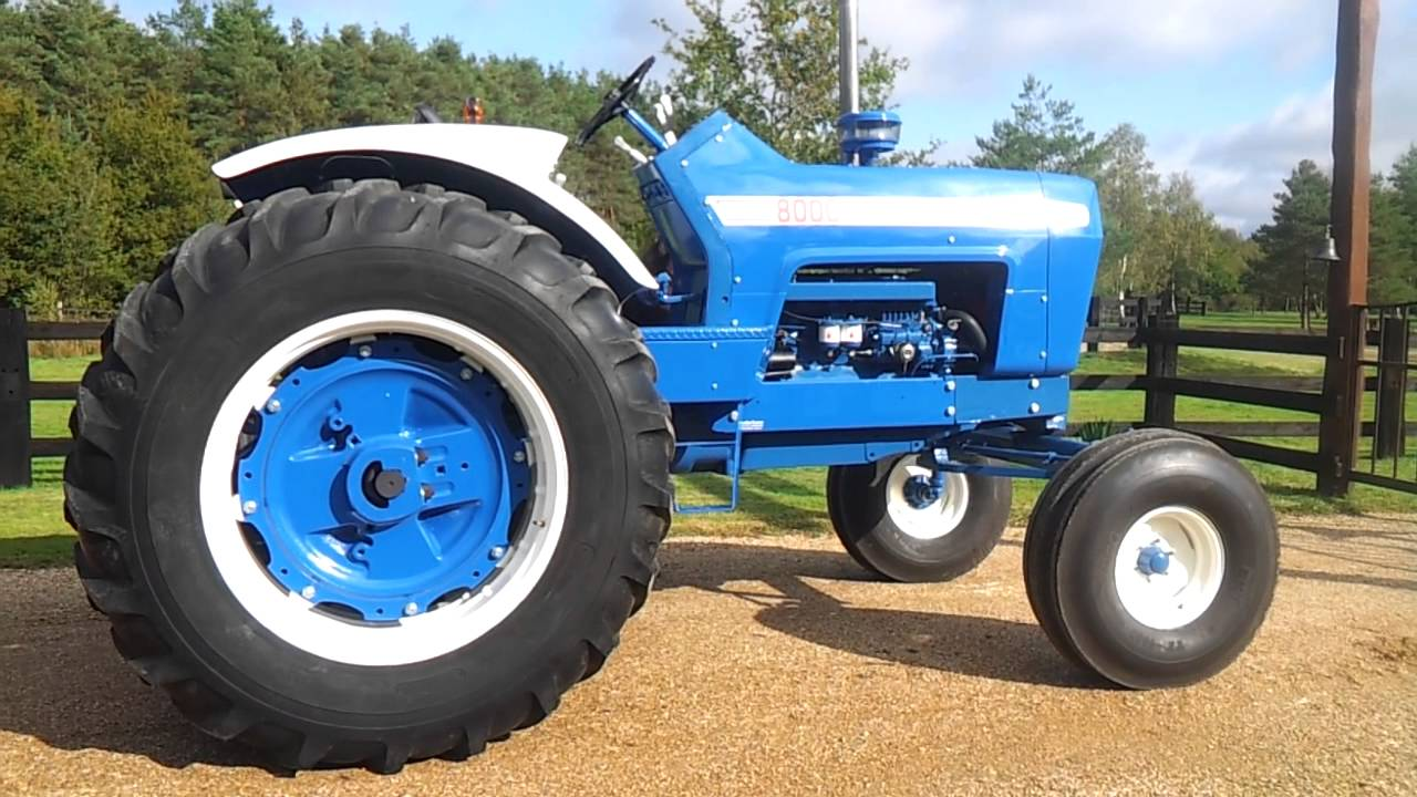 Ford 8000 Tractor Seat Parts : Ford youtube