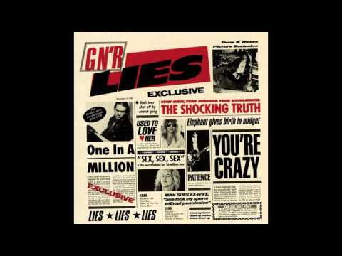 G n' r  Lies – One In A Million