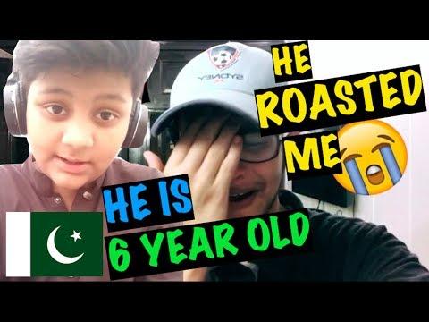6 Year Old Pakistani Kid Roasted Me