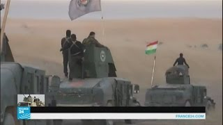 قوات البشمركة تستعيد السيطرة على 9 قرى شرق الموصل