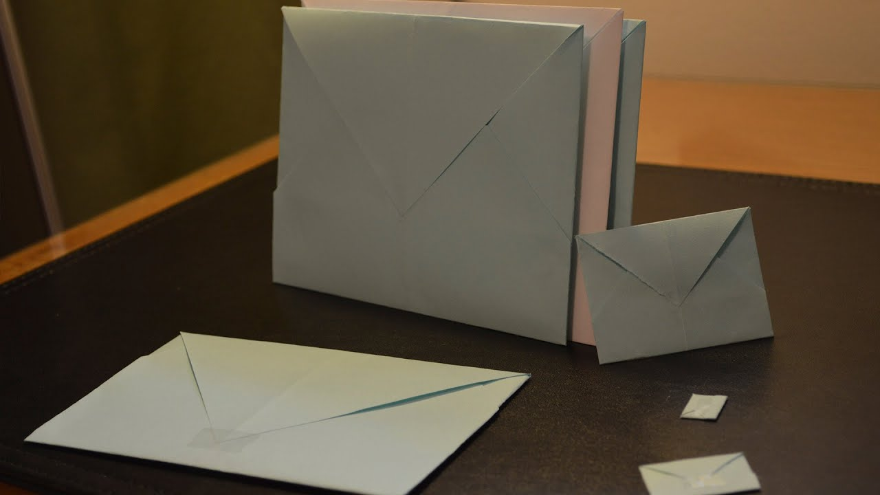 How To Make A Paper Envelope Youtube