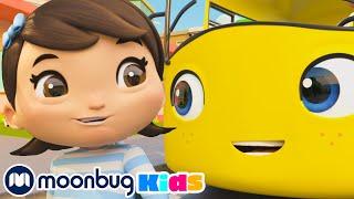 Going To School Song - @Lellobee City Farm - Cartoons & Kids Songs   Nursery Rhymes   Moonbug Kids