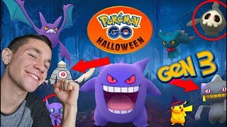 OFFICIAL *GEN 3 HALLOWEEN UPDATE* COMING TO POKÉMON GO!