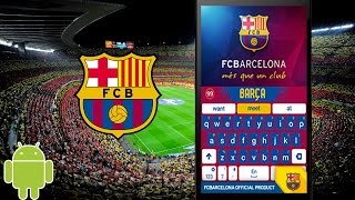Top FC Barcelona Official Keyboard Similar Apps