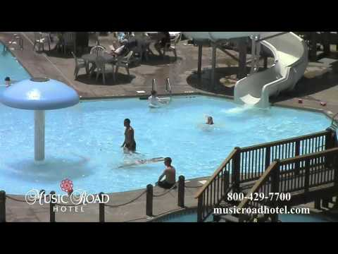 Music Road Hotel Pool and Slide