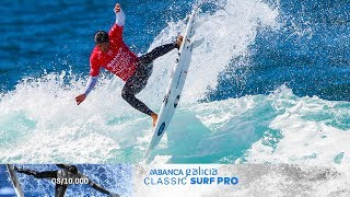 Pupo Reigns Supreme in Pantin, ABANCA Galicia Classic Surf Pro Highlights