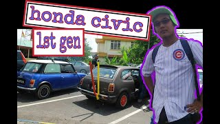 1979 Honda Civic Sb1 | Nostalgic CAR IN Malaysia | Bosozoku Style