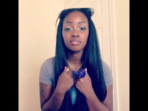 Crochet braids straight hair,neatly done Part 2 FunnyCat.TV