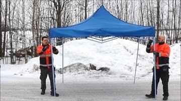 Puuilo pop-up teltta