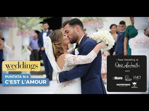 "4 - Weddings Luxury stagione 2018 - Puntata 4 ""C'est l'amour"""