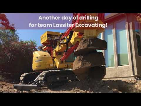 Another Successful Day of Drilling! | Lassiter Excavating