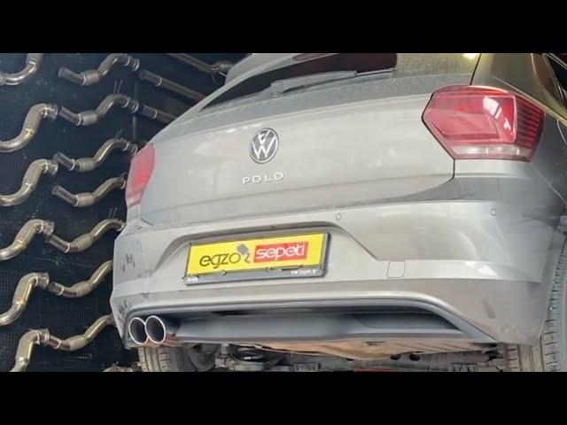 VW POLO 1.0 TSİ KUMANDALI EGZOZ SİSTEMİ