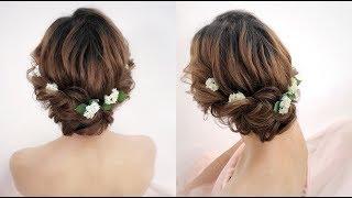 [新秘教學]超簡單!2股扭轉蓬鬆編髮新娘髮型Wedding hairstyle