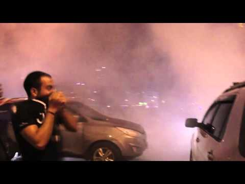 Gas Protest Raw Footage - Beirut