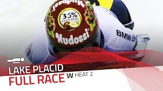 Lake Placid   BMW IBSF World Cup 2017/2018 - Women's Skeleton Heat 2   IBSF Official