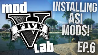 GTA V PC: Installing ANY .ASI Mods! - Episode 6! (HD)