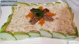 Elmalı Havuçlu Kereviz Salatası - Hülya Ketenci - Salata Tarifleri