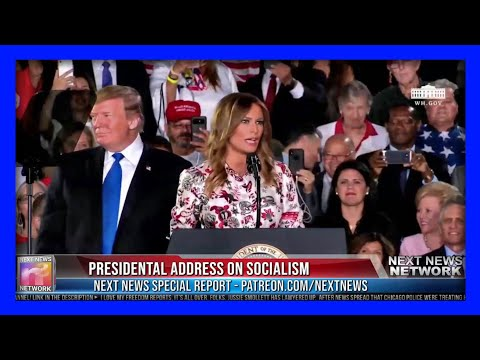 WATCH the Room ERUPT When First Lady Melania Trump CRUSHES Socialism in Miami