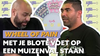 SIDNEY SAMSON EN SJAAK SPOELEN MOND MET RAUWE EIEREN | WHEEL OF PAIN