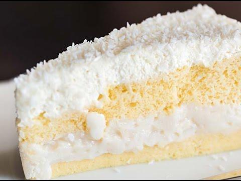 Easy Coconut and Pineapple Dream Cake Recipe