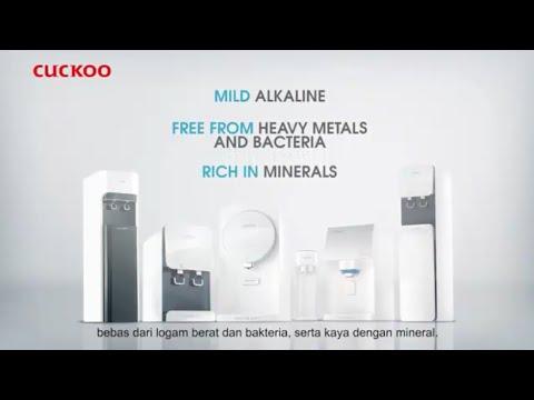 Penapis Air Cuckoo Malaysia - Air Mesti Ada Standard
