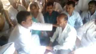 VPNishad MP in Shaheed Akhilesh Nishad`s village madhaiya dileep nagar Etawah